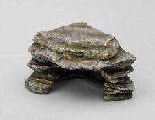 Eckstein Terrarium 20 cm Polyrin Felsen Stein Wüste Dessert Höhle Bau Versteck