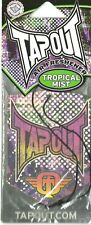 TAPOUT tropical mist AIR FRESHENER shaped official merchandise USA sealed IMPORT