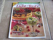 Taste of Home's Light & Tasty Magazine - Premier Issue