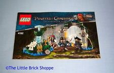 Lego Pirates of the Caribbean 4192 Fountain of Youth INSTRUCTION BOOK ONLY
