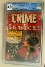 Crime SuspenStories #6 CGC 3.0 1951 EC Craig Feldstein Gaines Off-White to White