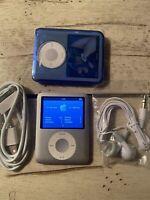 Apple iPod Nano 3rd Gen Silver (4 GB) REFURBISHED BUNDLE