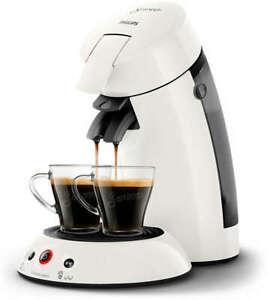 PHILIPS Original Senseo HD6554/10 Kaffeepadmaschine weiß 1450 Watt B-Ware