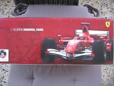 MSC Michael Schumacher F1 Ferrari 248 LAST WIN Shanghai 1:18 MATTEL NEW & OVP!