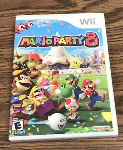 Mario Party 8 (Nintendo Wii, 2007) Complete /w Manual - Tested