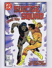 Suicide Squad 18 (Sharp!) Deadshot! DC Comics 1988 (c#04168)