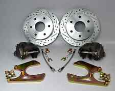 1963-1970 CHEVY C10 REAR DISC BRAKE CONVERSION D/S ROTORS 6X5.5 W/O E-BRAKE
