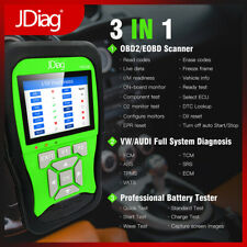 Car Auto OBD2/EOBD Code Reader Scanner+VAG Full system+Battery Tester JDiagV600B