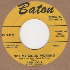 Ann Cole Got My Mo-jo Working Baton 237 Soul Northern Motown