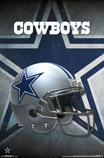 NFL: Dallas Cowboys - Helmet Team Logo Poster - 22x34 - Football