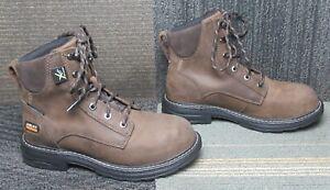 "Wmns ARIAT Casey 6"" MetGuard Composite Toe Work Boots 6.5 B"