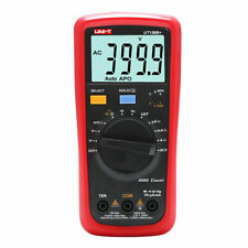H● UNI-T UT136B+ Digital Multimeter DC/AC V/A Cap Frequency Res Diode Tester