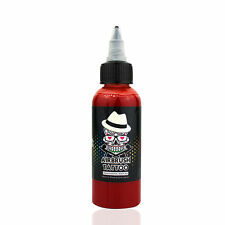 OPHIR Dark Red Temporary Tattoo Ink Pigment Body Paint for Airbrush Kit 60ML