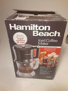 Hamilton Beach Iced Coffee Maker 40912