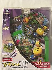 NEW FISHER-PRICE INTERACTV DVD MISS SPIDER BEST BUGGY ADVENTURES 3+ FREE SHIP