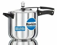 Hawkins Stainless Steel Pressure Cooker 6Ltr B65 (With Bill) (MRP-3385)