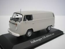 VW Volkswagen T2B T2 B Box Truck 1972 Gray 1/43 maxichamps 940053060 New