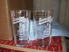 PAIR OF BEACON HILL EVERARDS PINT GLASSES LAGER BEER ALE AMBER ALE