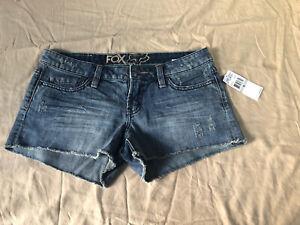Fox Shorts Size 0 181