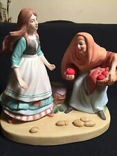 "The 12 Fairy Tale Porcelain Figurines Danbury Mint ""Snow White"""