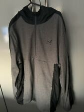Under Armour Hooded Zip Up Top Size XL