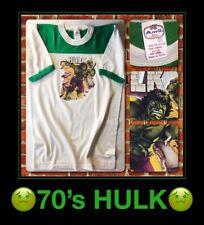 UNUSED 70's HULK Cartoon Thor Ragnarok Avengers Comic Cartoon Movie Vtg T-Shirt