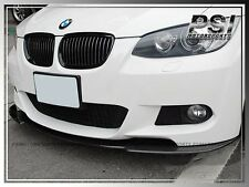 3 Series Carbon Fiber Front Bumper Lip For 2007-2010 BMW E92 E93 2Dr w/ M-Tech