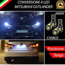 COPPIA LUCI DI POSIZIONE + COPPIA LUCI TARGA 5 LED CANBUS MITSUBISHI OUTLANDER