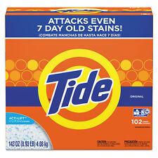 Tide Powder Laundry Detergent Original Scent 143 oz Box 2/Carton 85006Ct
