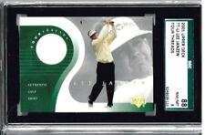 2001 Upper Deck Golf Lee Janzen Tour Threads PSA 88/   8