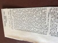 m7-4 ephemra 1915 article ww1 harrogate charles white writes from front