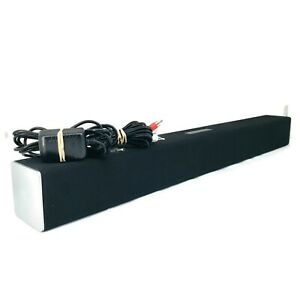 Vizio SB2920-C6 29 Inch Sound Bar Bundle Charger Audio Cables Working No Remote