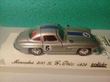 Véhicule Solido 1/43 Age d'Or - Mercédes 300 SL Gd Prix - 1954 - Ref.: 4503