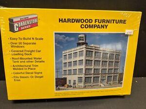 Walthers 933-3232 Hardwood Furniture Company Kit N Scale Train new sealed