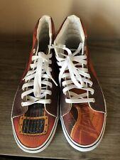e6224f885b RARE Vans Sk8 Hi Men s Custom Culture Guitar Hi Top Skateboard Shoes Mens 8