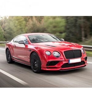 BENTLEY CONTINENTAL GT GTC SUPERSPORT 2017+ BODY KIT PAINTED AND FITTED