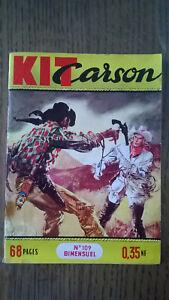 KIT CARSON N°109 IMPERIA 1960