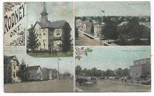 Elgin County RODNEY ONTARIO multi-view Circa 1910
