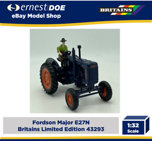 Britains 43293 1/32 Fordson Major Tractor Limited Edition Diecast