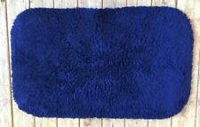 Bath Mat in Navy 100%  Supersoft deep pile Cotton  CLEARANCE SALE