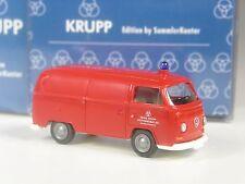 Klasse: Wiking Sondermodell VW T2 Feuerwehr Krupp in OVP