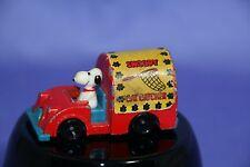 Peanuts Snoopy Aviva Snoopy Cat Catcher Die Cast Car RARE