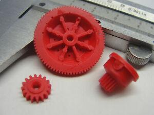 + RFT Zahnräder RFT GC 6131 Kompletten Satz RFT 6132 Gear Wheels RFT 6031 +