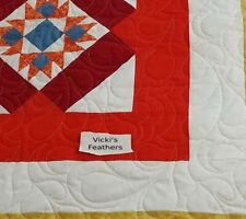 Custom Quilting $ 20 & up - You Choose how to finish your quilt -