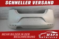 Seat Leon II 1P 1P0 Bj. 2005-2009 Stoßstange Hinten weiß Original 1P0807421