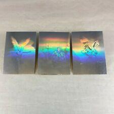 ROWENA MORRILL (FPG 1993) Complete SILVER HOLOGRAM Chase Card Set H1 H2 H3