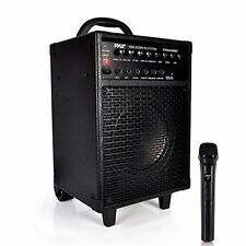 Pyle Wireless Portable Bluetooth Speaker System, Rechargeable Battery, Mic, 600W