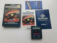 Atari 2600  Starmaster CIB Box, Manual, Game, Catalog, Foam Insert. Complete.
