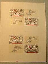 CZECHOSLOVAKIA MNH Souvenir Sheet S/S Block Czech CSSR European Peace 1977