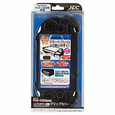 L2 / R2 buttons mounted grip cover Black for PSVITA PCH-1000 from Japan New
